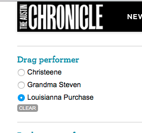 Go Vote!  #austinchronicle