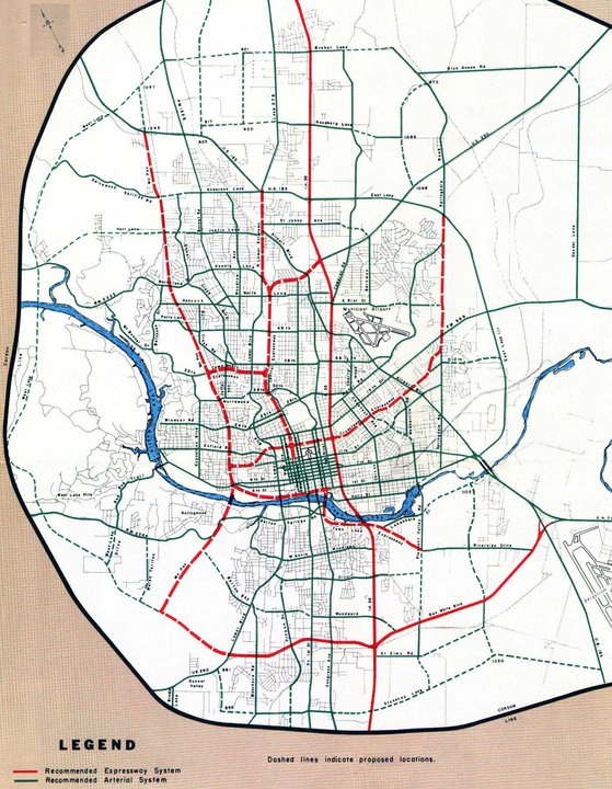 map of austin traffic routes